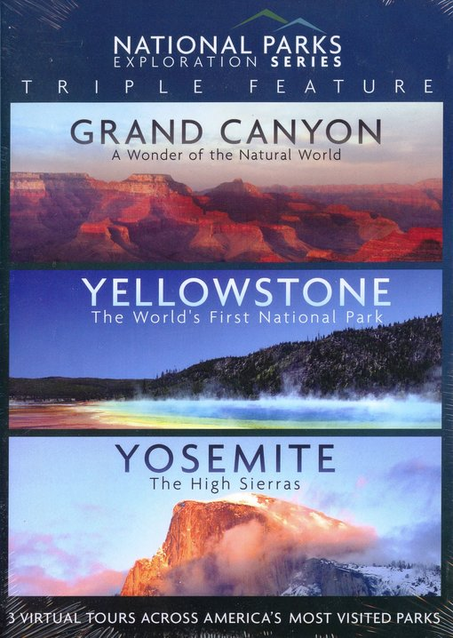87afb8ffe83e National Parks Triple Feature  Grand Canyon   Yellowstone   Yosemite ...